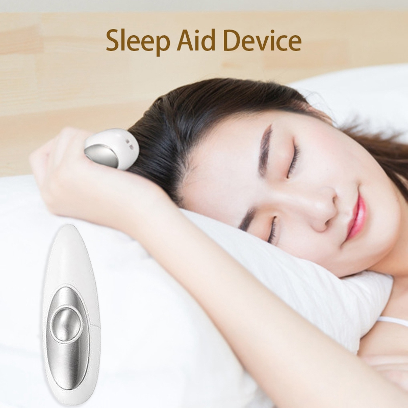 Sleep Aid Device Hand-Held Micro-Current Relieve Anxiety Depression Fast Sleep Instrument Insomnia Sleeper Massager