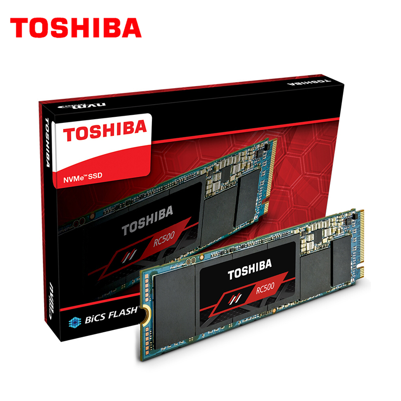 TOSHIBA New And Original 250GB 500GB RC500 NVMe PCIe M.2 2280 Internal SSD High Performance Solid State Drive For Laptop Desktop