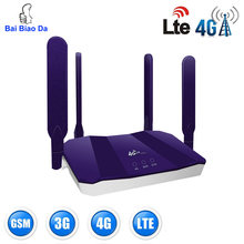 4g Router Wifi Wi Fi Modem Wi-fi Lte Access Point Mobile Cpe antenna Hotspot Outdoor Bridge With A Sim Card Slot