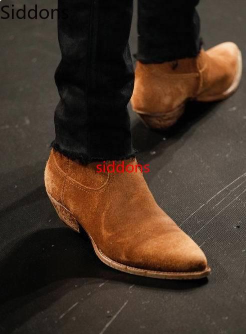 Winter Ankle Boots Men Shoes With Fur Warm Vintage Classic Male Casual Motorcycle Boot  Zapatos De Hombre Fashion Shoes Men D91