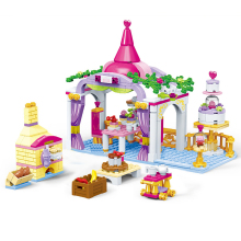 GUDI Legoingly Friend Girls Series Princesss Baking Cabin Building Blocks Educational Brick Toy Girl Gifts