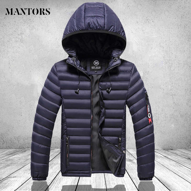 Brand Men Warm Parkas Coats Winter Male Casual Thicken Hooded Parka Overcoat Men's Fashion Solid Windproof Outwear Male Jackets