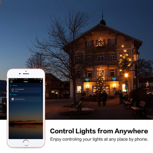 Image 5 - קסם 7W E27 RGB WIFI Led חכם הנורה אור אלחוטי חכם בית אוטומציה מנורה, 85 265V הנורה תואם עבור ALexa Google בית