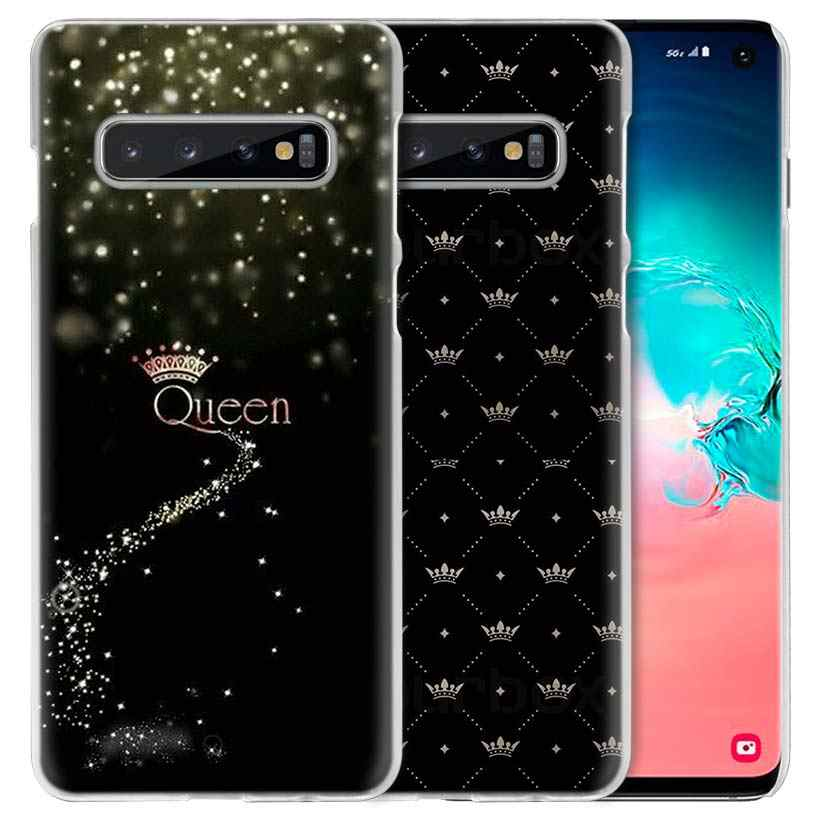 Anne Kraliçe Prenses samsung kılıfı Galaxy Note 10 5G 9 8 S10 S9 S8 Artı A50 A40 A70 A20 e note10 + PC telefon kılıfı Coque Kapak A10 s
