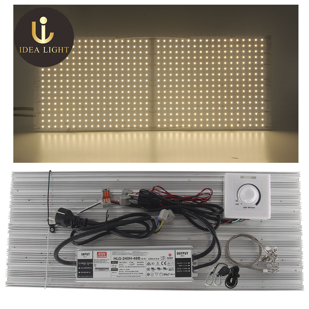 Dimmable HLG 550 V2 288 <font><b>Samsung</b></font> <font><b>lm301b</b></font> lm301h 3000K 3500K 660nm Quantum <font><b>Board</b></font> Led Grow Light Full Spectrum for plants seedlings image