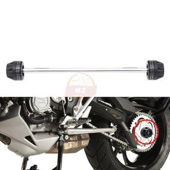 Accesorios de motocicleta, protector de horquillas de rueda de eje delantero de alta calidad, deslizadores de choque, almohada