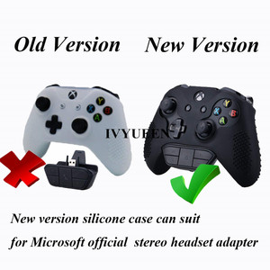 Image 5 - IVYUEEN 15 Colors Silicone Cover for Microsoft Xbox One X S Slim Controller Studded Protective Case Skin with Thumb Stick Grip