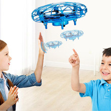 Rc planes Anti-collision Flying Helicopter Magic Hand UFO Ball Aircraft Sensing