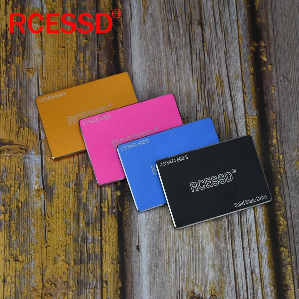 RCESSD Metal SSD 1TB SATA 3 SSD Hard Disk Drive Disc Laptop Internal Solid State Drive 128 256 512 GB For Desktop PC