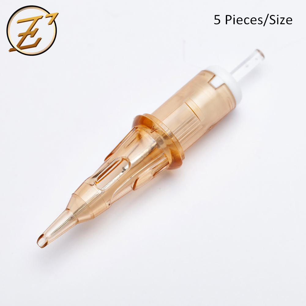 EZ V System Tattoo Cartridge Needles Liner Shader Elastic Membrane For Rotary Machine 5 Pieces Simple Package