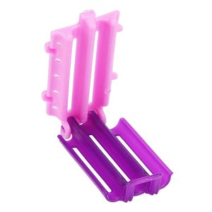 45pcs Wave Rod DIY Salon Bars Corn Curler Clip Resin Fluffy Clamps Hair Roots Perm Rollers Tool Accessories Styling Home