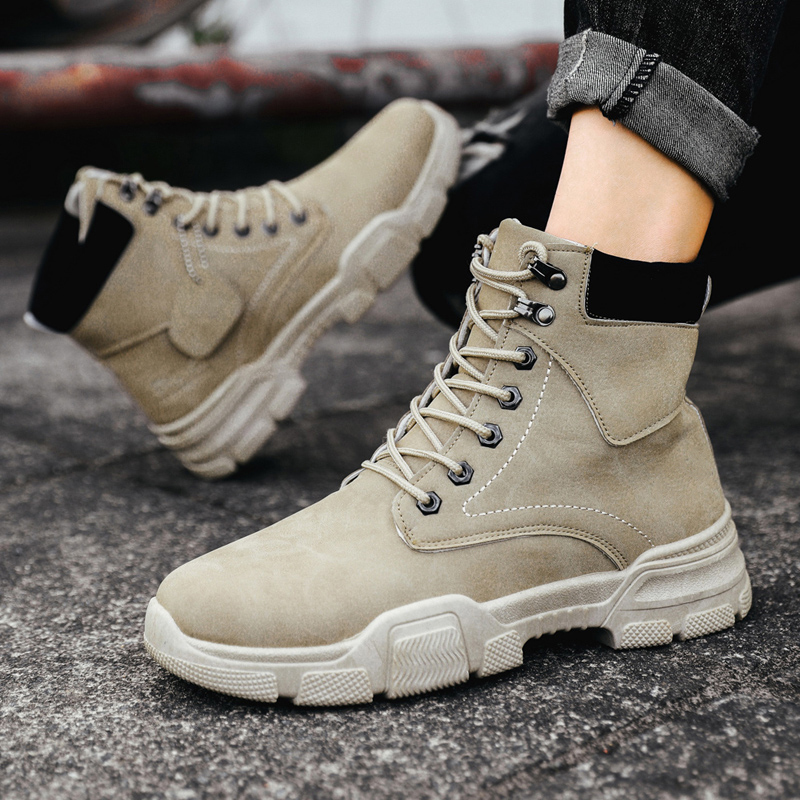 Winter Brand Warm Fur Mens Snow Boots Special Force Combat Ankle With Plush Boot Work Shoes High Quality Men Outdoor Sneakers