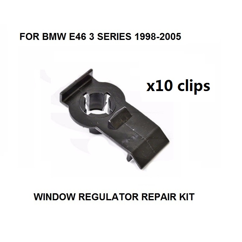 BMW 3 Series E46 Window Regulator Repair Kit Rear Right Door 1998-2006