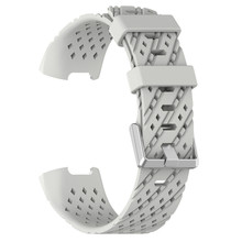 New Fashion Sports Breathable Silicone Bracelet Strap Band For Fitbit Charge 3 Replacement Wristband Strap Smart Watch