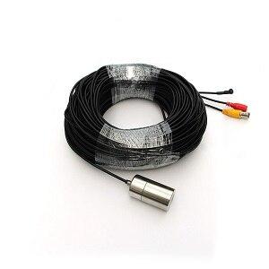 Звездный уровень 0.0001Lux Ночное видение 8-Мощность белый свет Подводные камеры видеонаблюдения Камера - Цвет: 30m cable