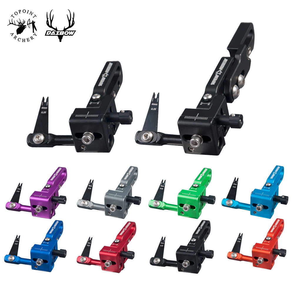 6x Plastic Arrow Rest Archery Recurve Bow Targeting Accessory Left//Right