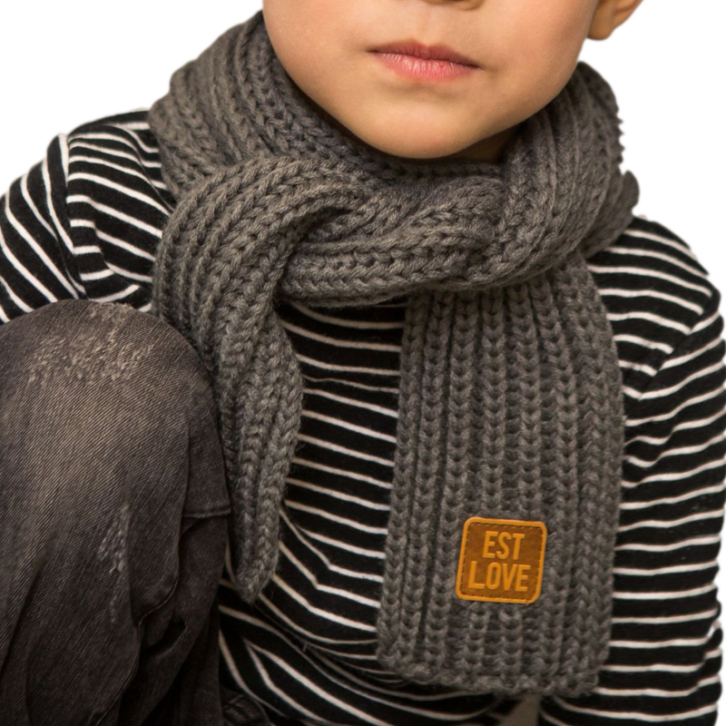 Children Winter Knitted Scarves Boys Girls Kids Thick Warm Scarf Long Scarf Imitation Wool Neckerchief