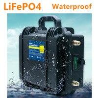 Lifepo4 12V 120ah batteria lifepo4 12V 120AH batteria al litio built in BMS per inverter  la nave del motore elettrico  RV  barca|Batterie singole|   -