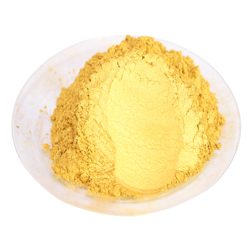 Gold Acrylic Paint Pigment Pearl Powder Pigment  Paint Coating Car Paint Nail Polish Art Crafts Leather Paint 50g/pack