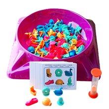 Poszukiwanie skarbów zabawki szkolenie logiczne myślenie wczesna edukacja rodzic-dziecko rodzinne gry planszowe dla dzieci tanie tanio CN (pochodzenie) Z tworzywa sztucznego Europa Juvenile 7-14 years old Plastic Multicolor