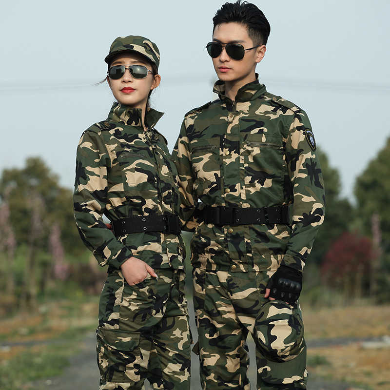Camouflage Hunting Clothes Men Women Military Tactical Clothing Ghillie Suit Combat Fishing Camping Hiking Jacket Cargo Pants