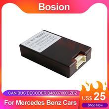Autoradio Stereo Bosion per auto Mercedes Benz Canbus Box Android 2 din /1 din