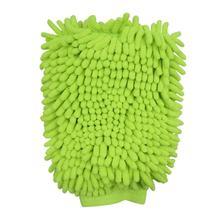 Перчатки для мытья автомобиля из ультратонкого волокна и синели, автоматическая очистка передних и задних ветровых стекол, ежедневный домашний инструмент для мытья окон