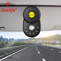 Deelife Freisprecheinrichtung Bluetooth Car Kit Sonnenblende Lautsprecher Auto Drahtlose Freisprecheinrichtung Freisprechanlage für Telefon Hände Frei