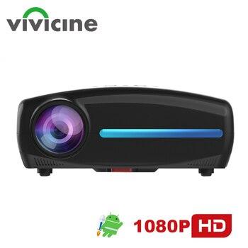Vivicine-Proyector de vídeo S4 para cine en casa, dispositivo con Android 9,0, HD, 1080p, 4K, HDMI, USB, PC, Multimedia