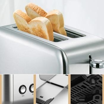 LAST ONE Deerma Bread Electric Toaster Baking Machine Household Automatic Breakfast Toast Sandwich Maker Reheat Kitchen Grilll 5