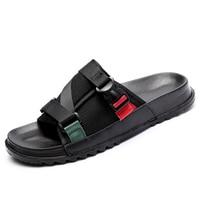 Men's Slides Soft Light Men Slippers Home Outdoor Beach Summer EVA Rubble Slide Slipper 2019 Fashion Indoor Shoes Big Size 47 48 5