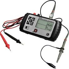 2 in 1 Multimeter Oscilloscope 25MHz Multifunct Handheld Scopemeter Voltmeter Ohmmeter Capacitance Screen Digital