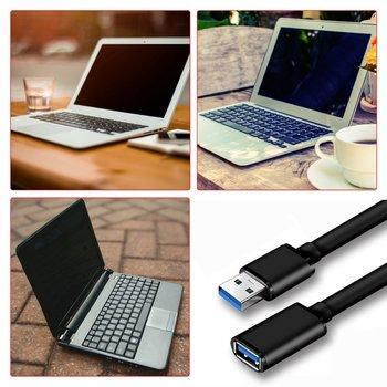 ONLENY przedłużacz USB USB 3 0 męski na żeński przedłużacz do Smart TV PS4 Xbox One Laptop USB3 0 Extensor kabel danych tanie i dobre opinie NoEnName_Null Other NONE USB Extension Cable CN (pochodzenie) standard full copper 9 core + aluminum foil + 96 braid shielding net