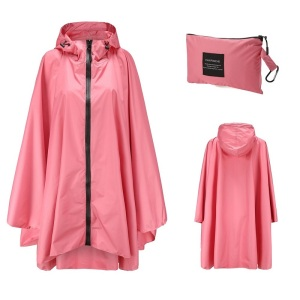Image 5 - Poncho Raincoat Womens Fashion Rain Coats Waterproof men Rain Poncho Cloak with Hood for Hiking Climbing Touring