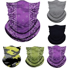Hiking Scarves Men Polyester Breathable Collar Windproof Anti UV Neck Cover Face Mask Fishing Hunting Cycling Bandana April 30th cheap Druck Mode fast shipping drop shipping wholesale high quality outdoor and sports for man for women fashion