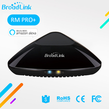Broadlink RM פרו + RM33 מיני 2019 אוניברסלי אינטליגנטי מרחוק בקר חכם אוטומציה בבית WiFi + IR + RF מתג עבור IOS אנדרואיד