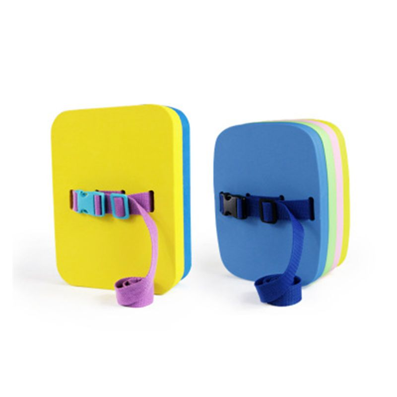 1 Pc Back Float Safety Bubble Belt with Adjustable Layers Secure Clip Buckle Swimming