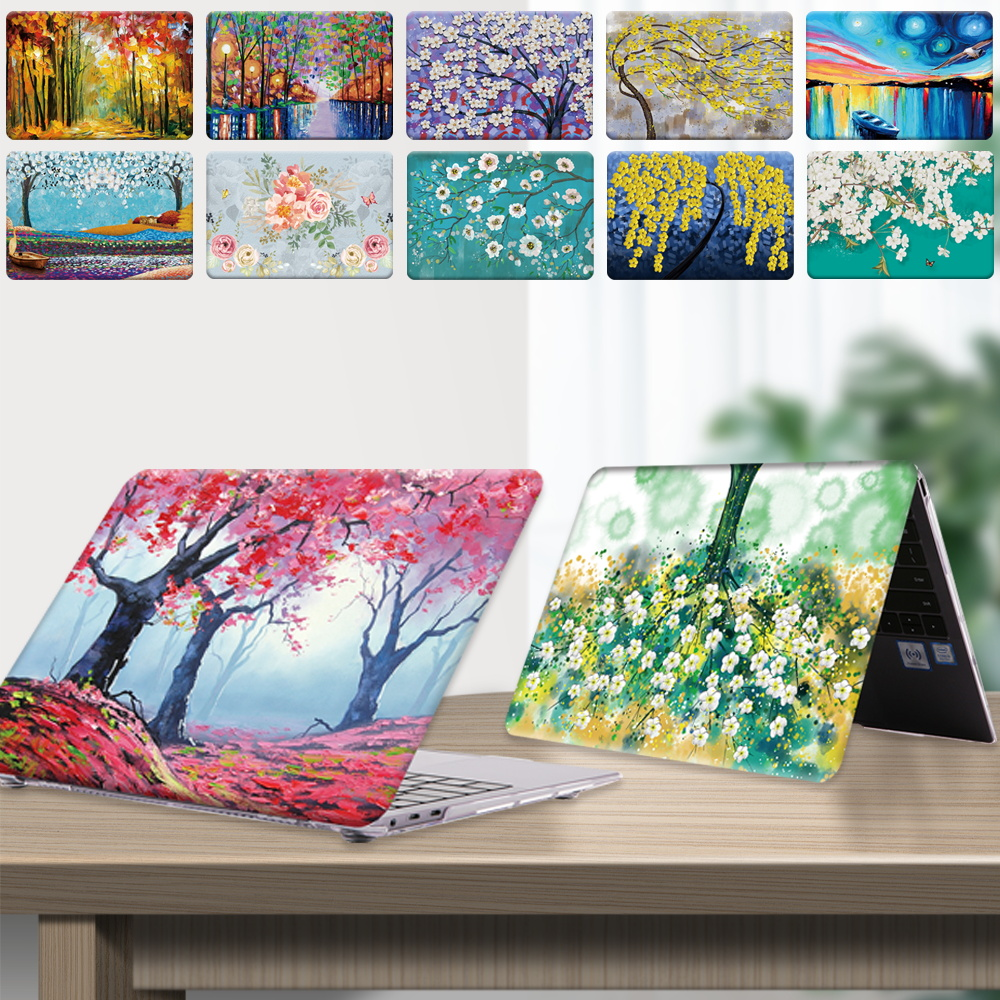 Laptop Case for Huawei MateBook (14/D14/D15)/Honor MagicBook (14/15)/MateBook X 2020 Dust-proof Paint Notebook Protective Shell