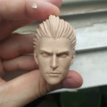 1/6 Magician Unpainted Head for 12''Action Figures Bodies Accessories