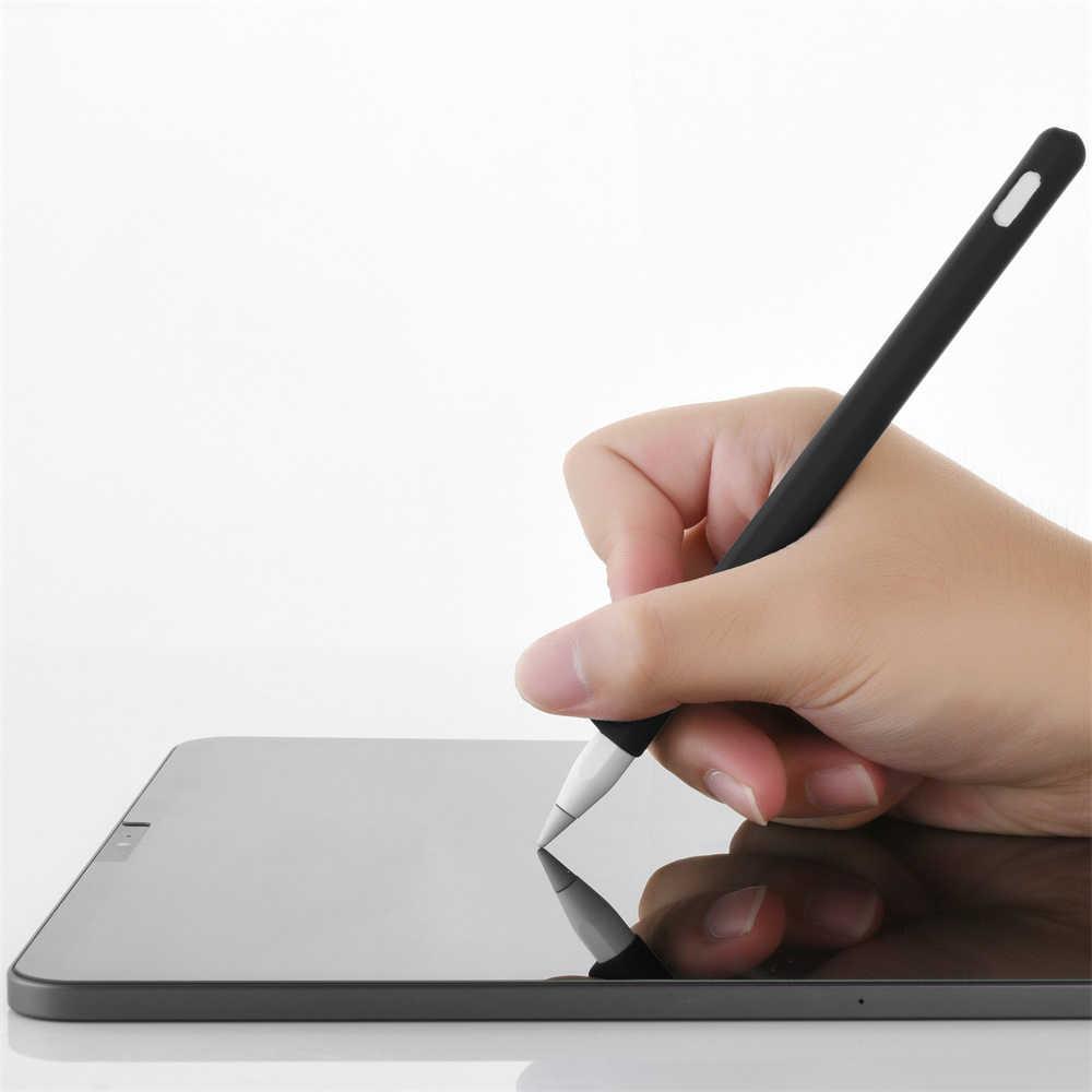 Mới Dẻo Silicone Dành Cho Apple Pencil 2nd Bảo Vệ Chống Sốc Bằng Giá Đỡ Tay Bao Túi Đựng Iphone IPencil Bút 2nd