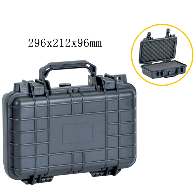 Safety Equipment Toolbox Plastic Sealed Tool Box Suitcase Impact Resistant Tool Case Container Storage Box With Pre-cut Foam