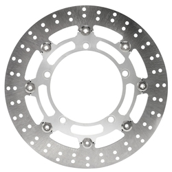 Caliper Brake Connector Floating Disc Brake Disks Set for Yamaha Xmax 300 16-18