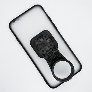 Image 4 - Support de support de téléphone portable de bicyclette de chapeau de tige avec le support de téléphone de vélo de boîtier de PC TPU pour liphone 6/6S/7/7 plus/8/8 Plus/11 Pro/12