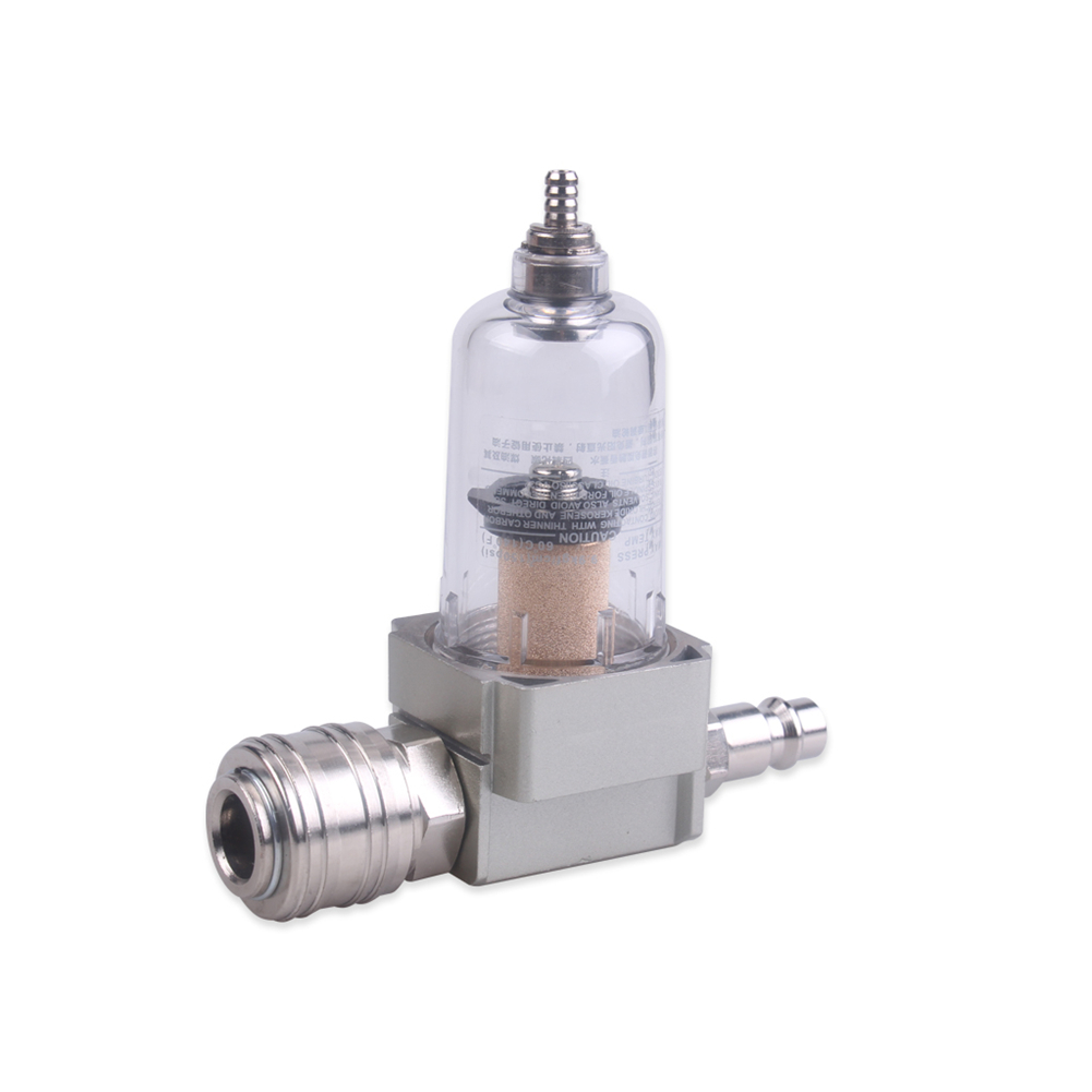 professional Quick Connector Stainless Steel Compressed Air Filter Water Separator Oil Separator Quick Coupling 1 4 in Oil Water Separators from Tools