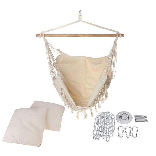 Bohemia Style Hanging Fabric Hammock  2