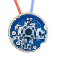 Circuit imprimé pour éclairage de vélo, 22mm, 3 modes T6 L2, 7.4V, alimentation par batterie, circuit imprimé pour lampe frontale de vélo avec indicateur