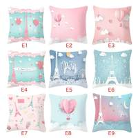 Romantic Pillow Case Cover Pink Minimalist Throw Sofa Bed Cushion Cover Decorative Beautiful Pillow Cases1