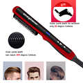 Multifonctionnel cheveux peigne brosse barbe lisseur cheveux redresser peigne cheveux bigoudi rapide cheveux Styler pour hommes