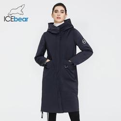 ICEbear 2020 chaqueta de primavera para mujer, abrigo de calidad para mujer, ropa femenina larga, ropa de marca GWC20066I