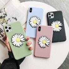 Мода Дейзи цветок мягкий чехол для Huawei У9 премьер-2019 7 классы У5 У6 П смарт плюс честь 8 9 10 20 Лайт про играть 10и 8х V20 диск 8С В10